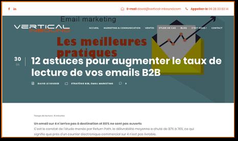 4 MOYENS - 12 astuces pour augmenter le taux de lecture de vos emails B2B