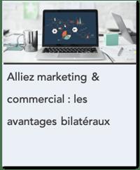 Alliez Marketing er Commercial - Les avantages bilatéraux