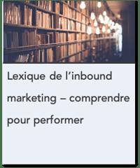 Lexique linbound marketing - comprendre pour performer