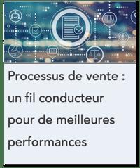 Processus de vente - un fil conducteur pour de meilleures performances